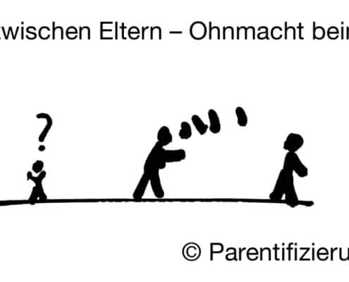 Streit zwischen Eltern